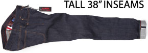 big & tall denim for tall men long 38 inseam jeans