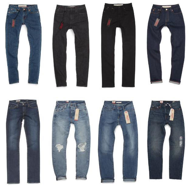 Top and popular women's jeans images