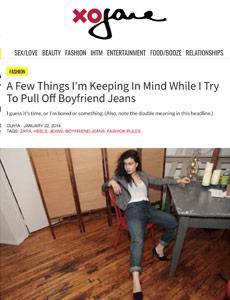 Xojane boyfriend jeans for women review by Williamsburg