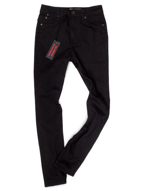 Womens Black High Waisted Jeans Made in USA.