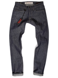 Lightweight Jeans Made in USA Selvedge Raw Denim Slim Fit.