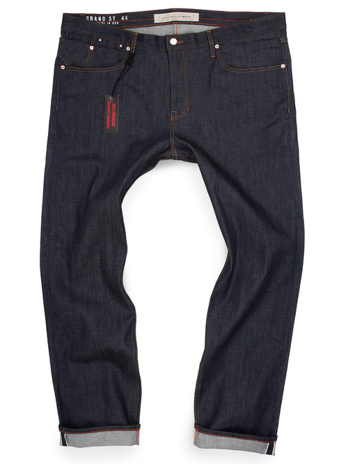 Big and Tall Selvedge Raw Denim American Made Jeans for big men.