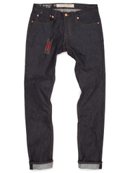 """Made in the USA Raw Denim Jeans with stretch.  The Hope St is our slimmest """"SLIM FIT"""" jean."""