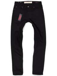 American made black denim Tall men's skinny jeans