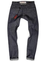 Lightweight Jeans Made in USA Selvedge Raw Denim Slim Fit.
