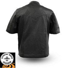 Renegade FIM410SDL Men's Short Sleeve Leather Light Weight Shirt First Manufacturing firstmfg