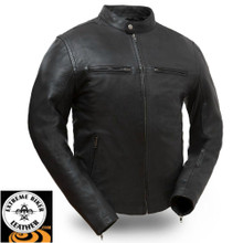 Hipster FIM253SDC Men's Sporty Scooter Jacket | First Manufacturing