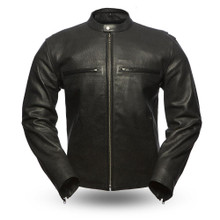 Turbine FIM213CNP Men's Leather Jacket | First Manufacturing