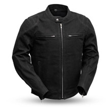 Men's Motorcycle Canvas Jacket FIM284CNVS |First Manifacturing