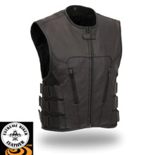 Commando FIM645CSL  Men's Updated SWAT Style Motorcycle Vest