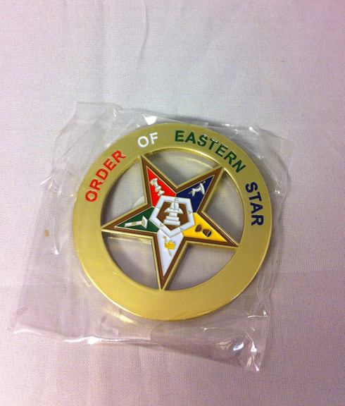Order Of The Eastern Star Oes Cut Out Car Emblem