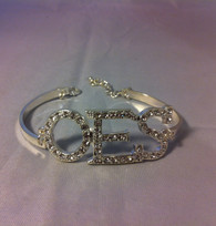 Order of the Eastern Star OES Bracelet-Silver