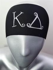 Kappa Delta Sorority Greek Letter Head band