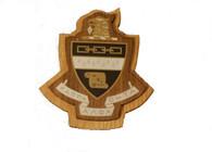 Kappa Alpha Theta Raised Wood Crest