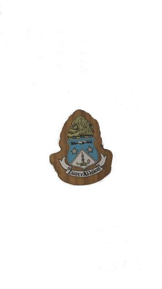 Alpha Delta PI ADPI Mini Wood Crest