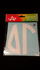 Delta Gamma Sorority Monogram Car Decal