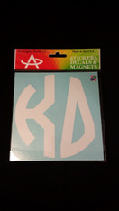 Kappa Delta Sorority Monogram Car Decal