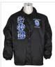 Zeta Phi Beta Sorority Line Jacket- Black