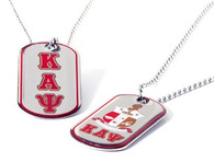 Kappa Alpha Psi Fraternity Reversible Dog Tag