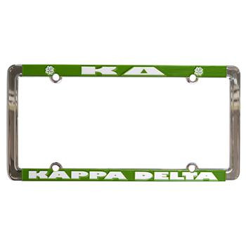 Kappa Delta Sorority License Plate Frame