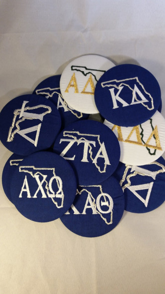 Florida Sorority Buttons