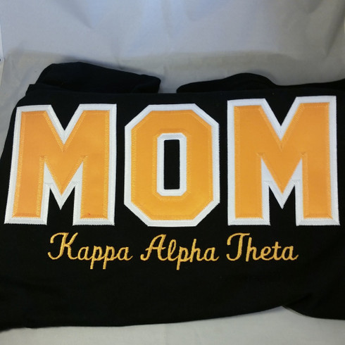 Example- Shirt Inspiration-  Sorority Mom Shirt