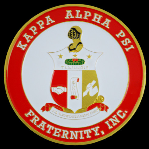 Kappa Alpha Psi Fraternity Car Emblem