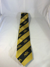 Alpha Phi Alpha Fraternity Three Greek Letters Neck Tie
