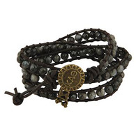 Kappa Alpha Theta Sorority Triple Wrap Bracelet