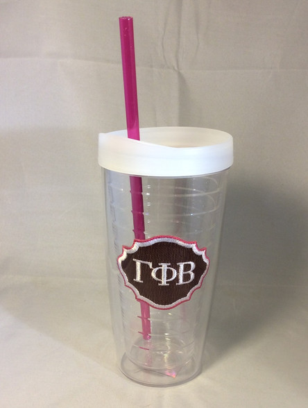 Gamma Phi Beta Sorority Tumbler