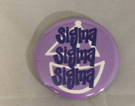 Sigma Sigma Sigma Tri-Sigma Sorority- Symbol Button-Small