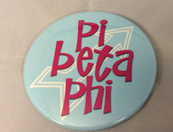 Pi Beta Phi Sorority- Symbol Button-Large