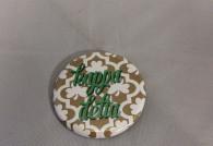 Kappa Delta Sorority Gold Symbol Button-Small