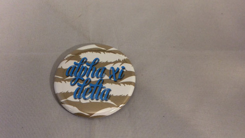 Alpha Xi Delta Gold Symbol Button-Small