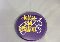 Delta Phi Epsilon DPHIE Sorority- Symbol Button-Large