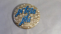Pi Beta Phi Sorority Gold Symbol Button-Small