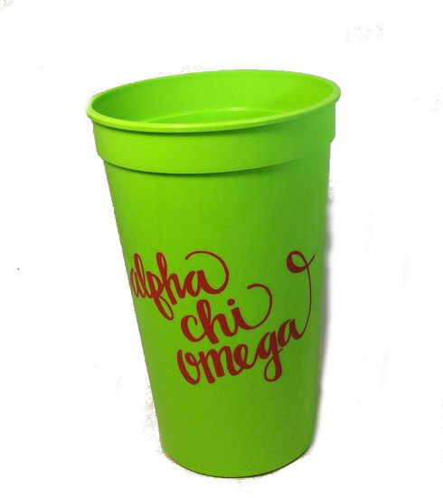 Alpha Chi Omega Sorority Cup