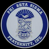 Phi Beta Sigma Greek Car Tag