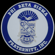 Phi Beta Sigma Fraternity Car Emblem