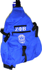 Zeta Phi Beta Sorority Sling Shoulder Bag