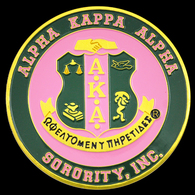 Alpha Kappa Alpha Sorority Car Emblem