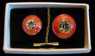 Kappa Alpha Psi Fraternity Tie Tac and Lapel Pin Set