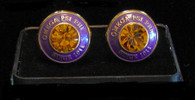 Omega Psi Phi Fraternity Cuff Links