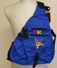 Order of the Eastern Star Sling Shoulder Bag Backpack