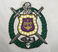 Omega Psi Phi Crest- 5 Inches