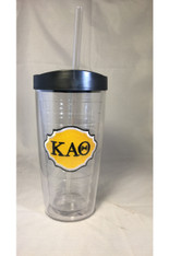 Kappa Alpha Theta Sorority Tumbler-New!