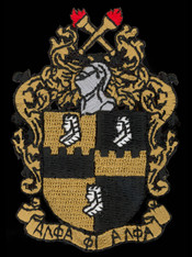 Alpha Phi Alpha Fraternity Emblem- 5 Inches