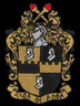 Alpha Phi Alpha Fraternity Emblem- 2 7/8 Inches