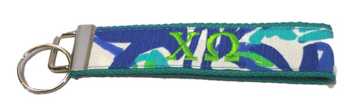 Chi Omega Sorority Key Fob-Pattern #3