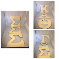 Sorority Wood Letter- Greek Letter Set – Three Letters